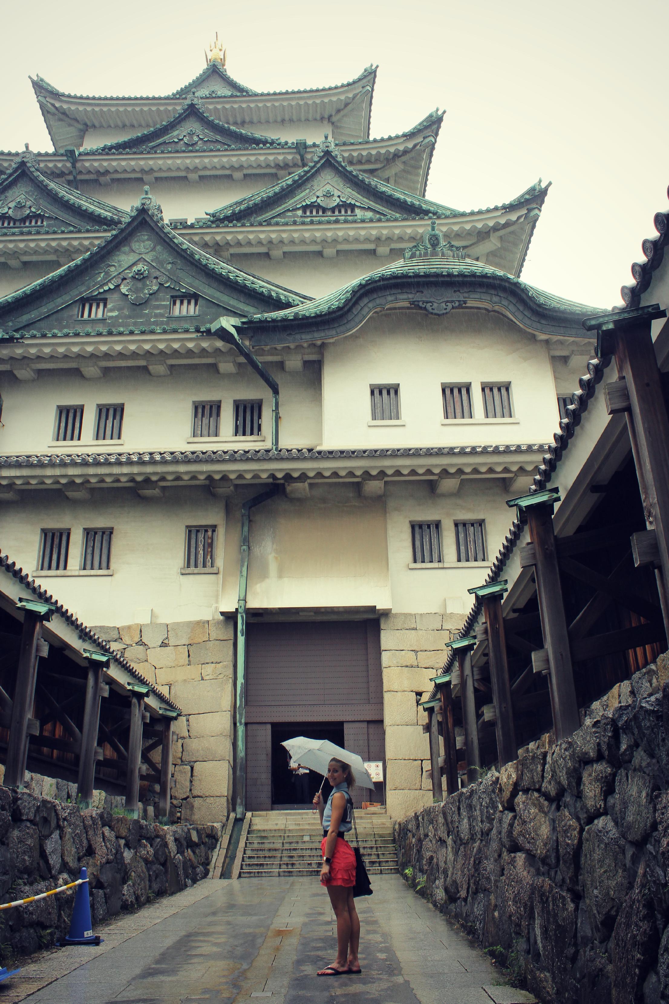 Nagoya castle.